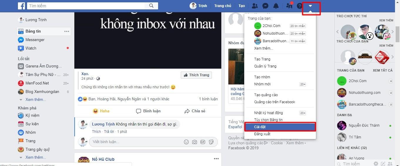 doi so dien thoai chinh facebook