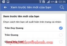 doi mat khau facebook tren dien thoai oppo