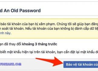 cach lay lai mat khau facebook bi hack