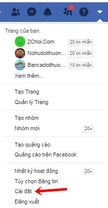 cach thay doi ten dang nhap facebook