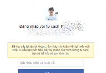 lay lai mat khau facebook bang cmnd
