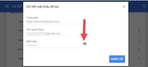 cach xem mat khau facebook bang dien thoai