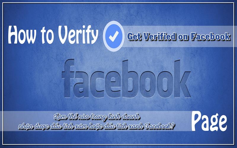 verify dấu tích xám cho fanpage