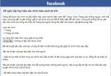 verify facebook ca nhan