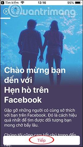 cach bat tinh nang hen ho tren facebook