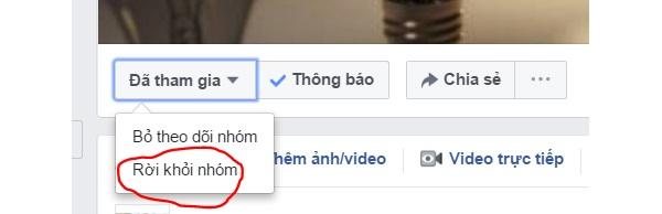 cach chan tham vao nhom tren facebook bang dien thoai