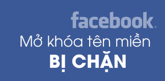 mở khoá website khi bị facebook chặn domain